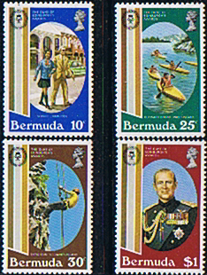 Stamps Bermuda 1981 Duke of Edinburgh Award Set Fine Mint