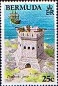 Stamps Bermuda 1982 Historic Bermuda Forts Set Fine Mint