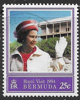 Stamps Bermuda 1994 Royal Visit Set Fine Mint