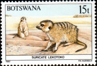 Botswana 1987 Animals SG 628 Fine Mint