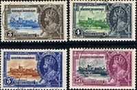 British Honduras 1935 King George V Silver Jubilee Set Fine Used