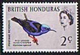British Honduras 1962 Birds SG 203 Fine Mint
