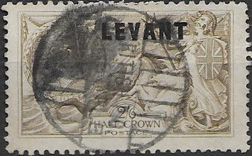 British Levant 1921 British Currency SG L24 Good Used