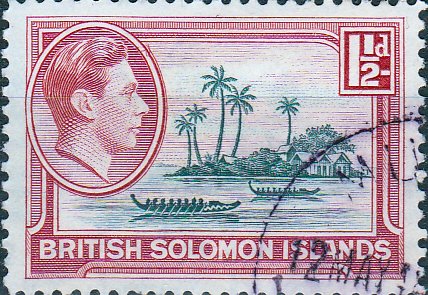 British Solomon Islands 1939 SG 62 Artificial Island Fine Used