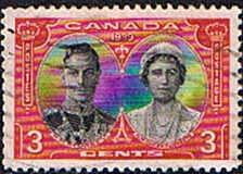 Canada 1939 Royal Visit SG 374 Fine Used