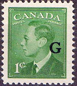Canada 1950 SG O178 Official Overprint