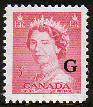 Canada 1953 SG O198 Official Overprint