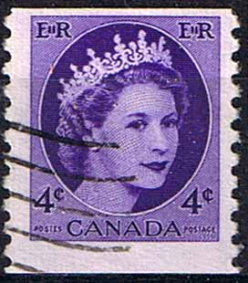 Military Vehicles For Sale Canada >> Canada 1954 SG 470 Queen Elizabeth Head Coil Stamps Fine Used
