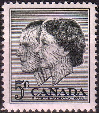 Canada 1957 Royal Visit Fine Mint