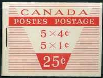 Canada 1963 Booklet SB 58 Fine Mint