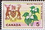 Canada 1964 Flowers and Emblems SG 543 Fine Mint