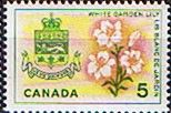 Canada 1964 Flowers and Emblems SG 544 Fine Mint