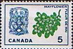 Canada 1964 Flowers and Emblems SG 546 Fine Mint