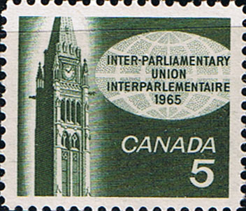 Canada 1965 Inter-Parliamentary Union Conference Fine Mint