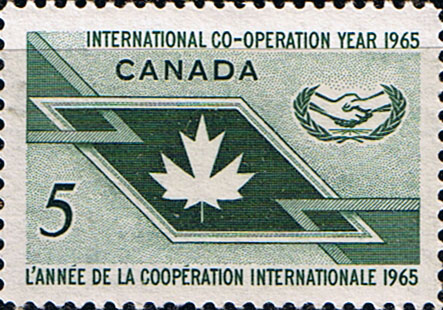 Canada 1965 International Co-operation Year Fine Mint
