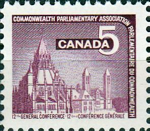 Canada 1966 Commonwealth Parliamentary Association Conference Fine Mint