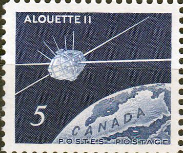 Canada 1966 Launching of Canadian Satellite Fine Mint
