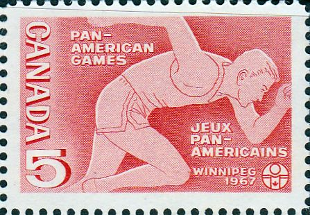 Canada 1967 Pan-American Games SG 614 Fine Mint