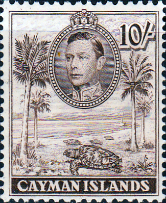 Cayman Islands 1938 SG 126 Hawksbill Turtles Fine Mint