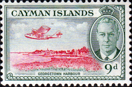 Cayman Islands 1950 SG 143 Georgetown Harbour Fine Mint
