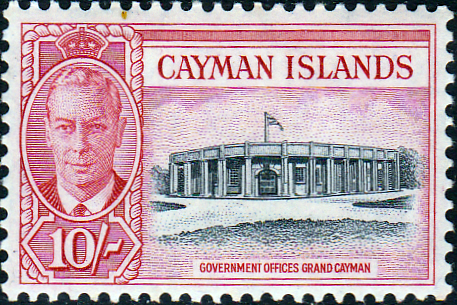 Cayman Islands 1950 SG 147 Government Offices Fine Mint