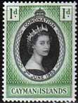Cayman Islands Queen Elizabeth II 1953 Coronation Fine Mint