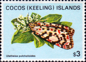 Cocos Keeling Islands 1982 Butterflies and Moths SG 99 Fine Mint