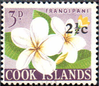 Stamps of Cook Islands 1967 Decimal Surcharged SG 207 Fine Mint Scott Scott 181