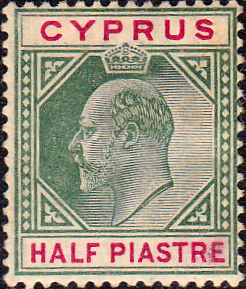 Stamps Stamp Cyprus 1902 King Edward VII SG 50 Fine Used Scott 38