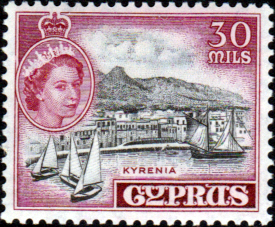 Cyprus 1955 New Currency SG 180 Fine Mint