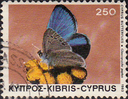 Cyprus 1983 Butterflies SG 606 Fine Used