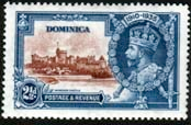 Dominica 1935 King George V Silver Jubilee SG 94 Fine Mint