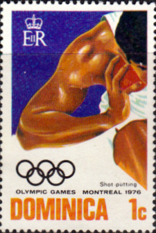 Dominica 1976 Olympic Games SG 516 Fine Mint
