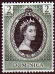 Dominica Queen Elizabeth II 1953 Coronation Fine Mint
