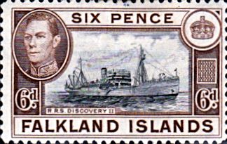 Falkland Islands 1938 SG 155a Fine Mint