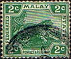 Federated Malay States 1904 SG 31 Tiger Fine Used