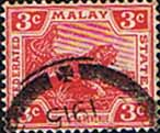 Federated Malay States 1904 SG 34 Tiger Fine Used