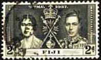 Fiji 1937 SG 247 King George VI Coronation Fine Used