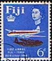 Fiji 1964 25th Anniv of First Fiji-Tonga Airmail Service SG 339 Fine Used
