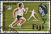 Fiji 1966 South Pacific Games SG 356 Fine Used