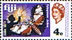 Postage Stamps Fiji 1969 SG 394 Hawk Moth Mint Scott 263 Insect