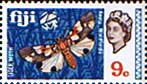 Postage Stamps Fiji 1969 SG 398 Tiger Moth Mint Scott 267