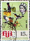 Postage Stamps Fiji 1969 SG 400 Sun Birds Used Scott 269