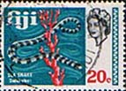 Fiji 1969 SG 401 Sea Snake Fine Used