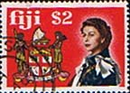 Fiji 1969 SG 407 Coat of Arms Used