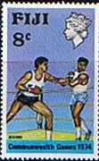 Fiji 1974 Commonwealth Games SG 490 Fine Mint