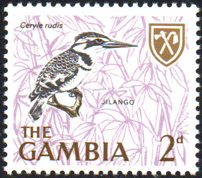 Postage Stamps Gambia Birds Set Complete Set Fine Mint