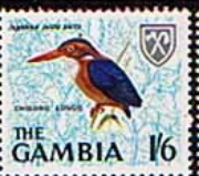 Gambia 1966 Birds SG 241 Fine Mint