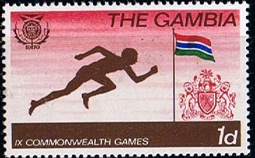 Gambia 1970 British Commonwealth Games SG 262 Fine Mint