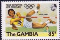 Gambia 1984 Olympic Games SG 528 Fine Mint